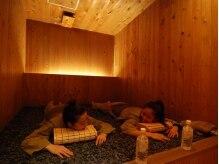女性限定のレディースルームと二つの個室あり!