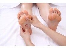 スウ リラクシングスパ(Suu. relaxingspa)の雰囲気(疲れやすい足裏を刺激し、しっかりトリートメントしていきます。)