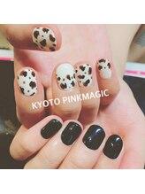 ピンクマジック(PINKMAGIC)/アシンメトリーネイル