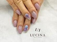 ネイルスタジオ ルキナ(LUCINA)/C-261 紫陽花ネイル