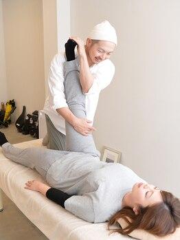 ボディサロン ピカパウ(Body Salon PICA-PAU)の写真/【体の歪みを整え美しいBODYへ◎】筋膜リリースや,深層筋をピンポイントでほぐしツボを刺激◎綺麗な骨格へ*