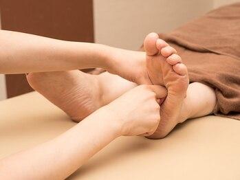 タイセイカン アピタ新守山店(TAiSEiKAN)の写真/足先の冷えやむくみの改善は【TAiSEiKAN】にお任せ!!膝から足裏まで徹底的にほぐします!