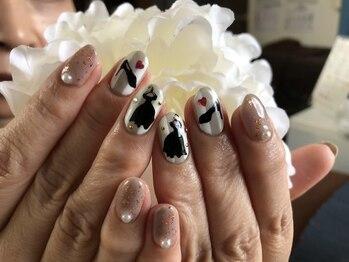 ネイルアンドビューティー アトリエスタイル(Nails&Beauty Atelier STYLE)/リクエストデザイン!¥8500