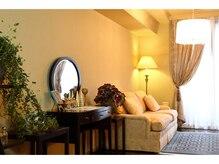 エステティック クオーレ ミサ ギンザ(ESTHETIC CUORE MISA GINZA)の雰囲気(上質なインテリアで揃えたホテルのような空間を独り占め)