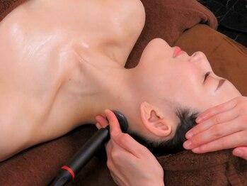インディバ専門店 エステティック リオン(Rion)の写真/【結果重視☆インディバFace幹細胞培養エキス最強コラボ¥9800】施術後に驚愕!肌の深層部からうる艶美肌に♪