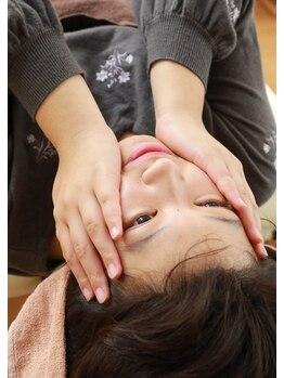 美容整体ナチュラル(natural)/手の感覚でチェック
