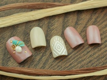 ネイルサロンアンドスクール グーフィー(nail salon&school goofy)/天然石ネイル6200円