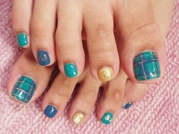 ミニョン ネイル(Mignon Nail)/【Foot】アート5本コース