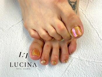 ネイルスタジオ ルキナ(LUCINA)/YM-380 人気のフットデザイン