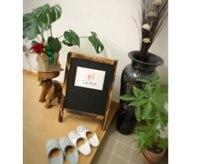 ビューティールーム リアンファボリ ラウムシア(Beauty room Lian Favori raumsia)の雰囲気(玄関先は植物とフラミンゴがお出迎え♪)