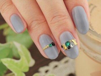 ネイルサロンアンドスクール グーフィー(nail salon&school goofy)/ストーンネイル5500円