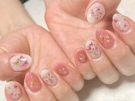 春pink・押し花