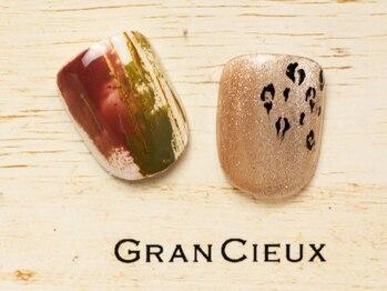 グランシュクアトロ 千葉店(GranCieux × QUATRO)/冬色フット親指サンプル