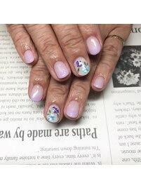 紫陽花nail