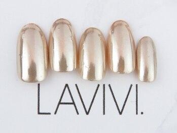ラヴィヴィ 表参道店(LAVIVI.)/ジェルミラーネイル1色5990円