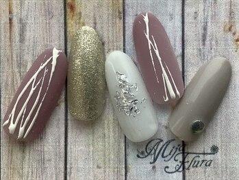 ミハフルーラ 与野(Home Nail Salon Mija Flura)/シンプル I544S
