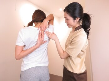 リラク イオンモール 木更津店(Re.Ra.Ku)/再度お身体の状態を確認
