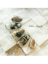 サロン アンジェラ(Salon Angela)/冬の水玉