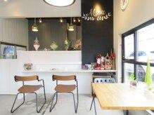 カフェスペース併設♪ゆっくりとした癒し空間