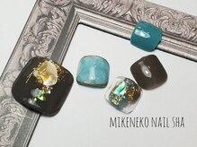 ミケネコネイル社/フット10本やり放題¥8900