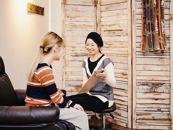 ブリス(BLISS)の写真/京急川崎駅近♪しっかりカウンセリング&丁寧な説明と施術で、エクステが初めての方にも優しい!