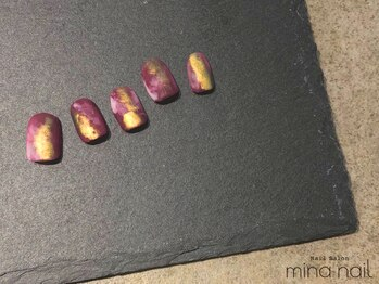ミーナネイル(mina nail)/ちぐはぐ 8,700円~