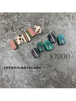 ファーストネイルアンドアイラッシュ 札幌駅前店(1stNAIL&eyelash)/■定額デザイン¥8000/¥7000■