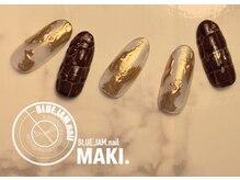 ブルージャムネイル(BLUE.JAM.nail)/12月キャンペーンネイル☆MAKI