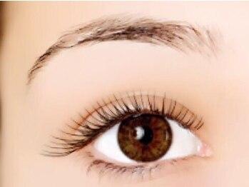 デンパサール アイラッシュアンドヘア 西宮店(DENPASAR eyelash&hair)の写真/【鳴尾/当日予約OK】好感度◎すっぴんにも自信☆ナチュラル目元美人を目指すなら100~120本がオススメ!