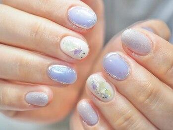 コットン ネイル(cotton nail)/マンスリーネイル
