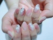ルチア(Lucia)/桜ネイル♪
