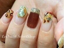 レイ ネイルアンドセレクトショップ(Lei Nail&Selectshop)/《ニュアンスレオパード》