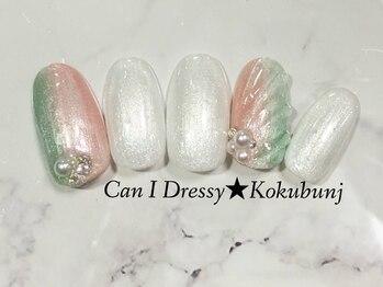 キャンアイドレッシー 国分寺店(Can I Dressy)/季節のキャンペーンネイル☆8月