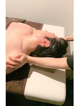 健幸サロン 大足 今店/デコルテマッサージ(男性)
