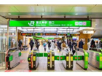 ニーナ 恵比寿(nina)/【道案内】1.恵比寿駅西口2分