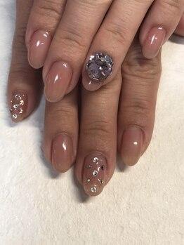 ココネイル(coco nail)/うる艶ワンカラースワロフスキー