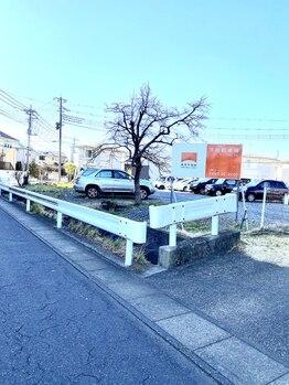 ポーラ primO新白岡店(POLA)/駐車場の場所