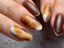 グレース ネイルズ(GRACE nails)/べっこうネイル