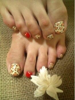 ミニョン ネイル(Mignon Nail)/【Foot】アートやり放題