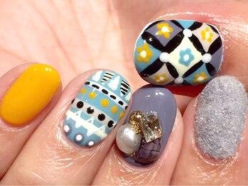 ネイルサロン アトリエエム(nail salon atelier...m)/(新規)オーダーB(90分)¥7500