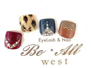 ビオールウエスト(Be All west Eyelash & Nail)/フット¥6600コース