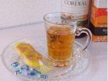 レクラン(L'ecrin)/施術後にはお菓子とお茶をどうぞ