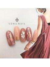 ルナ ネイル(LUNA NAIL)/くすみピンクネイル