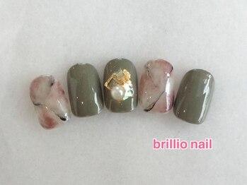ブリリオ ネイル(brillio nail)/選べるアート/オフ込¥5900