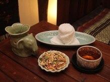 タイ古式マッサージ ファンディー(Fandee)の雰囲気(サロン特製のドリンクサービスあり♪)