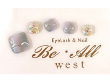 ビオールウエスト(Be All west Eyelash & Nail)/フット¥7700コース