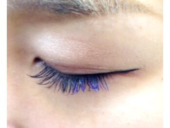 シンプリー ネイルアンドアイラッシュ 祖師谷大蔵店(Simpliee Nail&Eyelash)/カラーエクステ ブルー