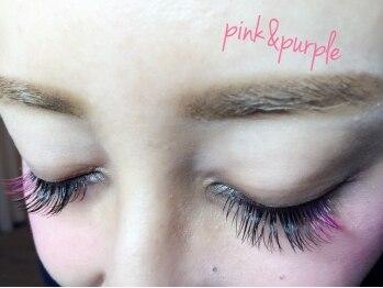 メロウ(Mellow)/ピンクにパープルをMIX