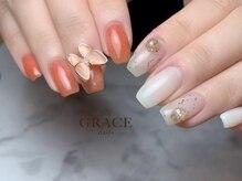 グレース ネイルズ(GRACE nails)/ちぐはぐネイル