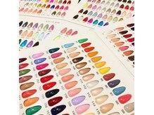 約450色のカラーの中からお選びいただきます。